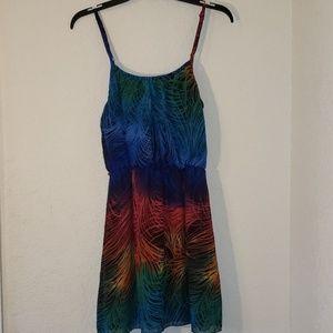 Poetry Spaghetti Strap Dress